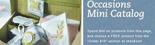 Occasions mini special