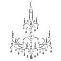 Chandelier decor element