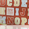 Alphabet stamp sets