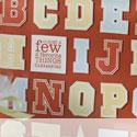 Alphabet stamp sets